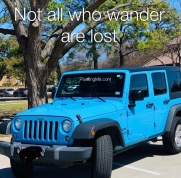 Not all who wander are lost PlantingMe.com