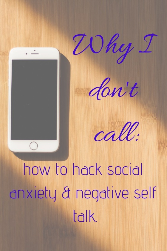 Why I dont call how to hack social anxiety PlantingMe.com